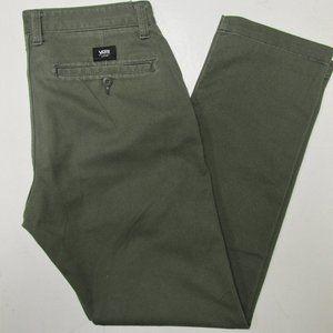 VANS Men's Khaki Pants 31 X 30